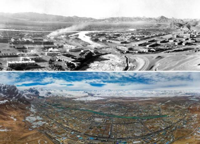 短短幾十年 跨越上千年——影像記錄西藏70年巨變